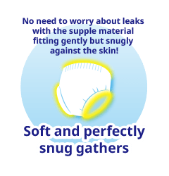 Soft and perfectly snug gathers