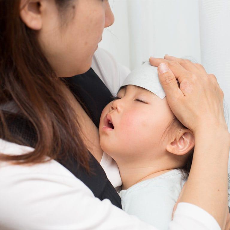接種 赤ちゃん 38 度 熱 予防